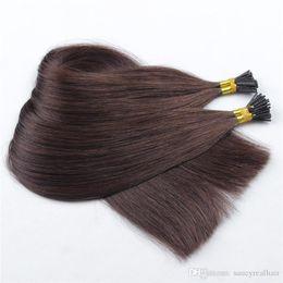 1 г пряди / я совет человеческих волос 100 г / pack200s / Lot с прямыми волнами девственных индийских волос, бесплатно DHL supplier virgin sticks от Поставщики девственные палочки