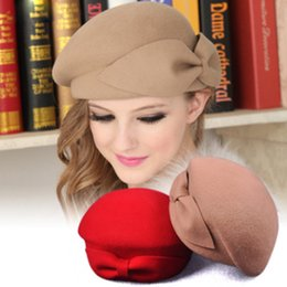 64df87a3003d0 MAERSHEI 100% wool Vintage Warm Wool Winter Women Beret French Artist  Beanie Hat Cap For Sweet Girl Gift spring and autumn hats