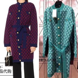 V-Ausschnitt Maxi Lang Kaschmirwolle Strickjacke Pullover Damen Mantel Einreihig