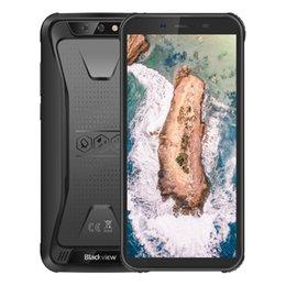 """Водонепроницаемый смартфон 3g онлайн-Дешевые 3G WCDMA Blackview BV5500 IP68 Водонепроницаемый пылезащитный противоударный четырехъядерный процессор 2 ГБ 16 ГБ 5,5 """"на весь экран 4400 мАч 3-прочный прочный смартфон"""