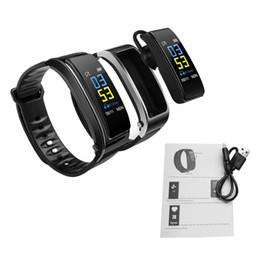 2019 headset anschauen Y3 Plus Smart Armband Passometer Pulsmesser Bluetooth Uhr Sportuhr Mit Bluetooth Kopfhörer Smart Uhr Armbanduhr sty196 rabatt headset anschauen