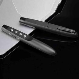 2019 лазерный луч зарядного устройства 2.4G перелистывания страниц PPT Demonstrator Лазерные указки Pen Беспроводная синий красный зеленый Ручка дистанционного управления для продажи