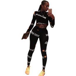 Tracking anzug frauen online-Plus Size Joggers Pants ZWEI STÜCK SET Trainingsanzug Trainingsanzüge Freizeit Sweatsuits Für Frauen Kleidung Kostüme Frühling Tops + pants