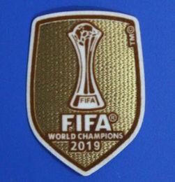 2019 Club World Cup futebol remendo Real Madrid camisa remendo campeão remendo emblemas de Futebol Hot stamping de