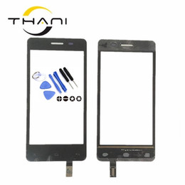 fly phone screen Coupons - Touch Screen Digitizer For FLY IQ4403 IQ 4403 Mobile Phone Touchscreen Front Glass Sensor Panel Replacement With stickers+tools