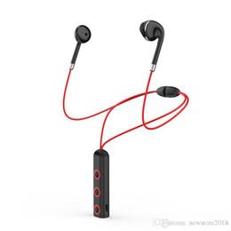 Precio universal de auriculares bluetooth online-precio de fábrica magnética BT313 Bluetooth Headset auriculares corrientes del deporte del auricular del auricular de Bluetooth con los auriculares estéreo Mic para el teléfono celular