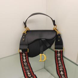 6e437dac2f63e 2019 vintage sättel Ausgezeichnete Qualität Designer Umhängetaschen Leder  Mode Frauen Umhängetaschen Designer Handtaschen Geldbörsen Vintage  Satteltaschen
