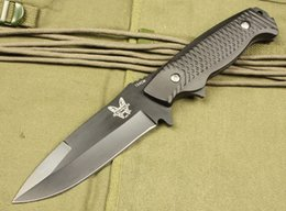 Cuchillos de caza fijos online-benchmade A27 4.5inch cuchillo de hoja fija recta táctica autodefensa edc cuchillo colección cuchillos de caza regalo de navidad Adco