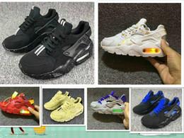 cheaper f7f48 af2c6 Neue 2019 Kinder Huarache Schuhe Flash Light Huaraches Infant Sport Jungen  Schuh Tennis Drift Huarache Kinder Air Running Kid Sneakers kinder huarache  ...