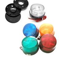2019 luz de advertência estroboscópica led 12v 5 Cor 12 V Alarme de Segurança Strobe Signal Sinal de Aviso Sirene Lâmpada LED Luz Piscando desconto luz de advertência estroboscópica led 12v