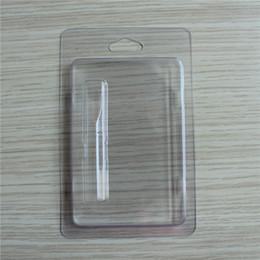 Clamshell-Blisterpackung für Vape Pen 0,5 ml 1,0 ml-Zerstäuber-Stiftpatronen, die 510 Faden-Zerstäuber verpacken, der DHL frei ist von Fabrikanten
