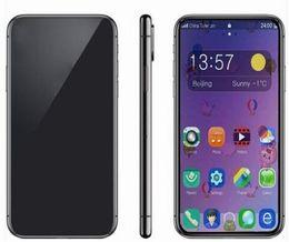 2019 smartphone en acier inoxydable Tag vert scellé GooPhone 11 Pro Max 1 Go 16 Go Quad Core 13MP 3G Android 7.0 Téléphone 6.5 pouces Dual Sim Card MTK6580 3G Téléphones