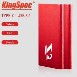 KingSpec SSD Harici sabit disk hd externo 1 t usb 3.1 taşınabilir SSD 128 GB 256B pendrive USB flash kalem sabit disk nereden