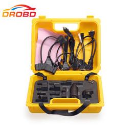 Nueva herramienta de diagnóstico Lanzamiento X431 Conector iDiag conjunto completo Paquete X-431 adaptador easydiag caja amarilla Envío gratis desde fabricantes