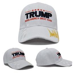 3d snapbacks Sconti Trump Baseball Cap Uomini Donne ricamo 3D Casquette Presidente Snapbacks Hip Hop Streetwear Cappelli Trump 2020 Fai americano Great Again Cap