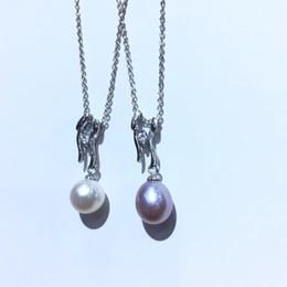 impostazioni per pietre Sconti Componenti e accessori a pendente CHEAP Parts Impostazioni da donna per Oyster Akoya Pearl Edison, corallo, giada, pietra, perline, pietre