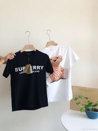 59577ced3 19ss design de marca de luxo BBR TB urso Logo Tee Shirt Das Mulheres Dos  Homens Breatheable Moda Streetwear Camisolas Ao Ar Livre T-shirts