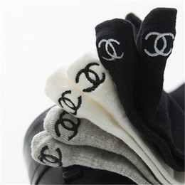trend socks Promo Codes - Spring Summer New Tide Socks European American Street Brand Boat Socks Cotton Thin Style Trend Heel Socks With Small Ears