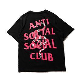 Camisas de pintura para homens on-line-33s ass rua marca de moda carta seta pichações pintura retro óleo impressão homens e mulheres amantes T-shirt casaco camisola de manga curta