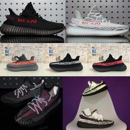 2019 New Sneakers adidas yeezy yeezys yezzy yezzys 350 boost schuhe V2 Laufschuhe Static Yecheil Weiß Sesame Kanye West Sports shoes schuhe