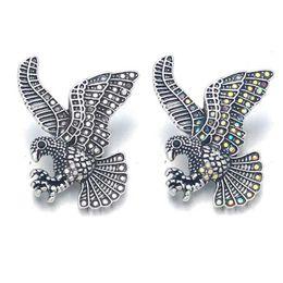 Accroche des bijoux interchangeables en Ligne-En gros w448 Fleur 3D 18mm 25mm 30mm En Métal Snap Bouton Pour Bracelet Collier Interchangeable Bijoux Femmes Accessoire Conclusions