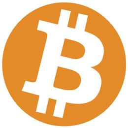 Deutschland 500pcs 30mm Durchmesser bitcoin Logo-Label-Aufkleber, orange Farbdruck auf Glanzpapier, Artikel No.FS03 Versorgung
