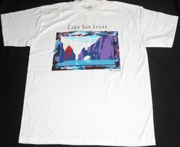c3b3c341a 3 Photos Art de surf ? vendre-VTG NOS CABO SAN LUCAS T-shirt graphique avec