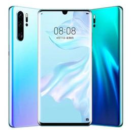 2019 vídeo quente mms 2019 Nova Chegada Goophone P30 Pro 6.5 polegadas Android 9.0 falso 4G Lte Câmera de 8MP GPS Wifi 3G WCDMA Desbloqueado Smart Phone