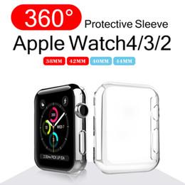 2019 smart watches ultra dünn Hochwertige ultradünne klare transparente Sost TPU-Hülle für Apple Watch Series 4 3 2 von 38/40/42 / 44mm iwatch Apple Watch Case günstig smart watches ultra dünn
