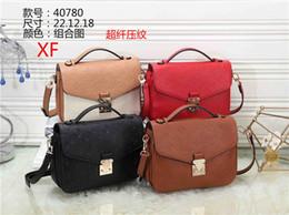 Sacos de atmosfera on-line-Mulheres moda explosão padrão de alta qualidade bloqueio bolsa de ombro mulheres compras high-end atmosfera armazenamento Messenger bag bolsa de negócios