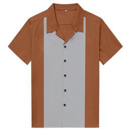 Dikey Çizgili Gömlek Erkekler Rahat Düğme Aşağı Elbise Pamuk Gömlek Kısa Kollu camisa ortaçağ Retro Hombre Bowling erkek Gömlek cheap vertical striped shorts nereden dikey şeritli şort tedarikçiler