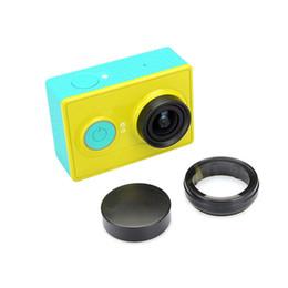 2019 casquillos centrales a presión Filtro de lente UV para Xiaomi Yi Sport Action Camera Protection Lens Cap Cover para Xiaomi Yi Xiaoyi accesorios de la cámara