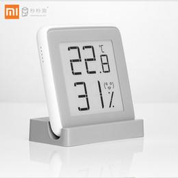 sensor de umidade de alta temperatura Desconto Xiaomi Miaomiaoce E-link Tela de Tinta Digital Medidor de Umidade de Alta-precisão Termômetro Temperatura E Umidade Sensor Q190606