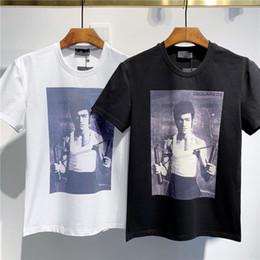2019 espacio gato t shirts 2020 impresión de lujo de la aptitud ocasional Phillip camiseta llana manera fresca oso camiseta de verano Shipp libre de la ropa de los hombres de manga corta de los hombres del O-cuello