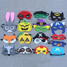Spectacles d'usine de jouets en Ligne-2019 derniers jouets d'Halloween, masques pour enfants, 16 styles mélangés en gros. Afficher les accessoires. Ordre de bienvenue en gros