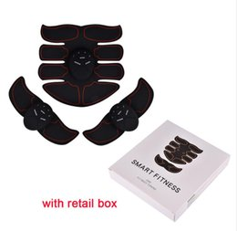 belts home Coupons - EMS Abdominal Muscle Training Stimulator Device Wireless Belt Gym Professional Body Slimming Massager Home Fitness Beauty Gear