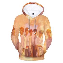 Frdun 3D толстовка мода Любовь Самостоятельно K Harajuku 3D Печати Bangtan Boys Мужчина / женщина Толстовка и фуфайка от
