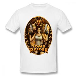 3c591f4053d tomb raider Coupons - Crewneck Tomb Raider Hipster Tee Shirt Men Geek T- Shirt 100