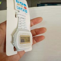 Argentina Blanco GASIO F91 gospel2005 precio A159 venta de fábrica a159w RELOJ CASOI G-SHCOK para hombre y mujer reloj impermeable original A168 b640 A159 Suministro