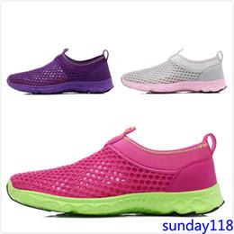 amantes net Desconto Novos Amantes de Verão Net Sapatos Casuais Sapatilhas Respirável Sapatos Femininos