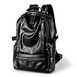 Canada Sac à dos en cuir pour hommes de nouveau pour hommes Sac d'école de haute qualité pour hommes Sac à dos de grande capacité Sac de voyage décontracté Offre