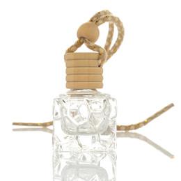 Canada bouteille de parfum bouteille de voiture suspendue ornement de parfum air Freshene huiles essentielles diffuseur parfum bouteille en verre vide 5 ml CNY1044 supplier perfume oils bottles Offre