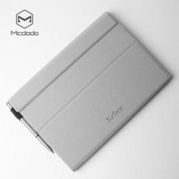 microsoft pro Desconto Luxo pu leather folio suporte flip case capa para microsoft surface pro 4 / pro5 2017 / pro 6 t190710