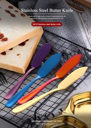Couteau à beurre Trancheur À Fromage En Acier Inoxydable Sandwich Beurre Épandage De Couverts Western Petit Déjeuner Dessert Gâteau À La Crème Vaisselle De Table ? partir de fabricateur