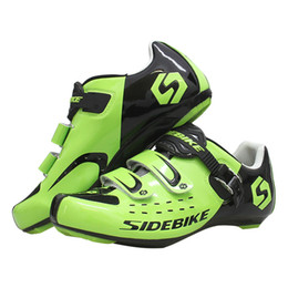 Sapatos estrada sidebike on-line-Sidebike ciclismo sapatos estrada Corrida de Mountain Bike Shoes Ciclismo respirável Self-Locking bicicleta Sapatilha Zapatillas