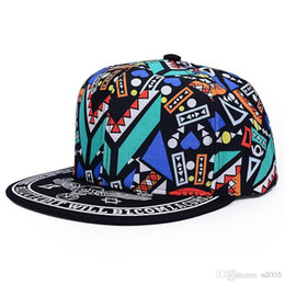 797396f3e44 Male And Female Hip Hop Baseball Caps Fitted Fashion Sport Fan Hats Luxury  Popular Totems Flower Cloth Snapbacks Hot Sale 6yg I1