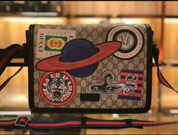 Almohada leopardo online-Venta caliente Diseñador de Bolsos de Las Mujeres de la Marca Simple Bolsa de Mensajero Bolsas de Almohada Hombro de Las Señoras Bolso Retro Femenino de Alta Calidad Bolsa de Mano B040