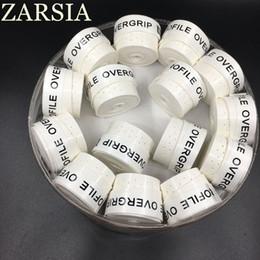 agarre de bádminton blanco Rebajas Al por mayor de 60 piezas (blanco) ZARSIA RAQUETA sobregrip Tenis grip raquetas de tenis recambio de grip, el agarre de bádminton