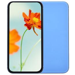 Argentina Blue Goophone XR V4 Clone 1 GB 16 GB 3G WCDMA Quad Core MTK6580 Android 7.0 6.1 pulgadas Todas las pantallas Cámara de 8 MP Identificación de la cara Teléfono inteligente Rojo Amarillo Negro cheap red radios Suministro