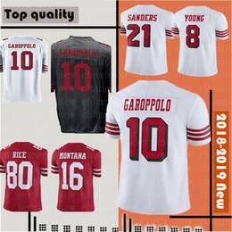 e22f24c7e Men San Francisco Jersey 49ers 10 Jimmy Garoppolo 25 Richard Sherman 7  Colin Kaepernick 56 Reuben Foster 16 Joe Montana 53 Bowman Jerseys